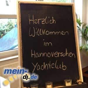 DJ Markus im Yachtclub, Hannover Maschsee